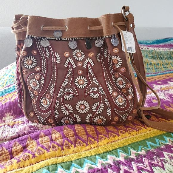 Free People Handbags - Free People Boho hobo bag